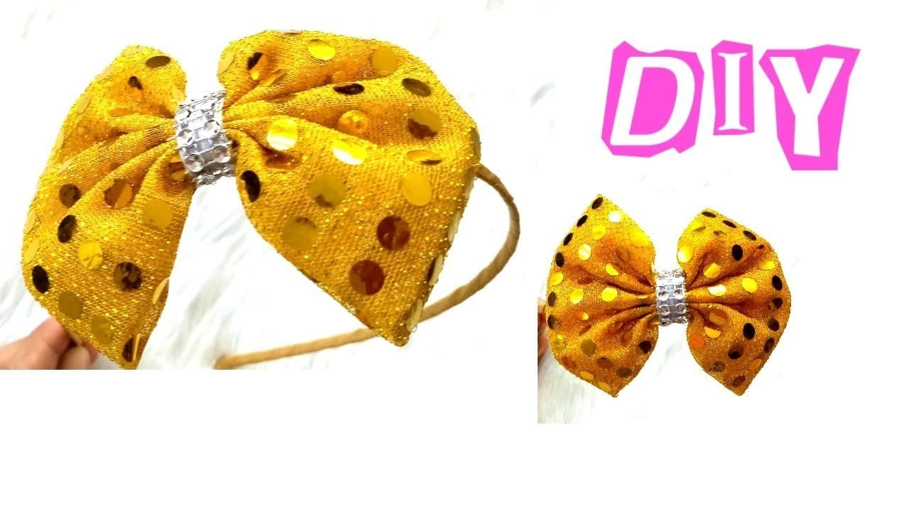 DIY Sequin Headband    Headband Ideas    Easy Tutorial    How to Make