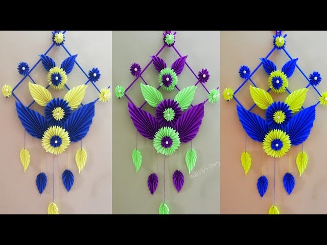 DIY Wall Decor - Paper Wall Hanging - Wall Decoration Ideas - Paper Craft