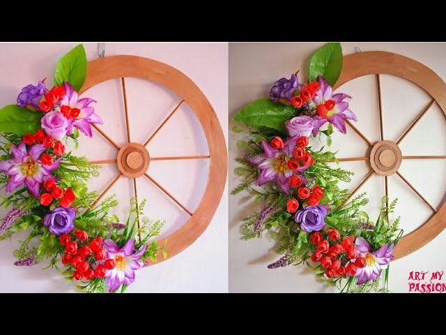 DIY Wall Decor With Cardboard | Wall Hanging Craft Ideas | Home Decor Ideas | #ArtMyPassion