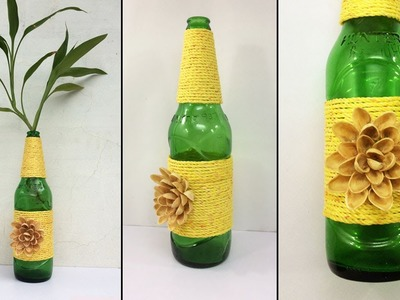 DIY Waste Bottle Craft ideas. Recycle Bottle Home Decoration. Best out of waste. Indoor Plants