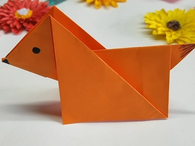 Dog craft paper - cute puppies - paper dog - paper craft ideas - easy paper art - art and craft