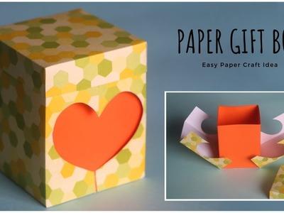 Gift Box DIY Craft | Paper Gift Box | Paper Craft | Heart Box | DIY Gift Ideas