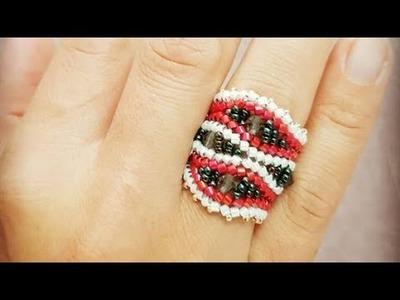 Herringbone Ring DIY Tutorial