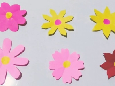 How to make 6 different shapes of flower | Paper craft by Ellen N.
