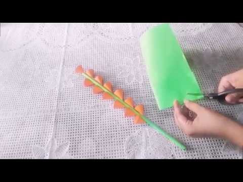 How to Make A Gift Flower.Handmade Gift Idea.DIY Paper Craft