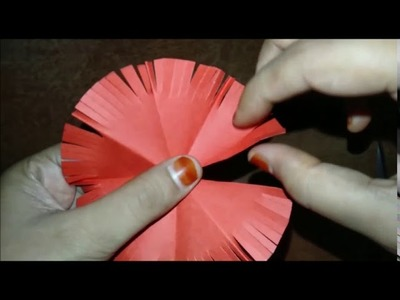How to make a paper flower  || craft ideas