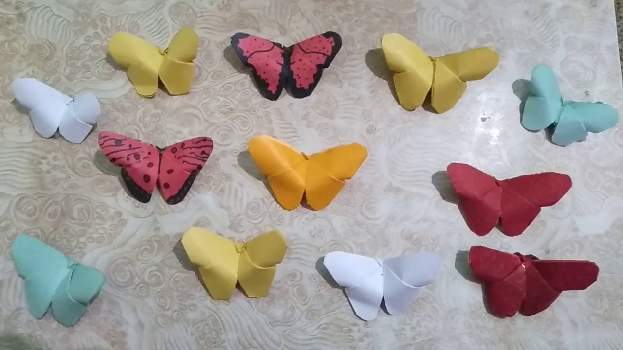 HOW TO MAKE DECORATIVE PAPER BUTTERFLY. तितली.DIY  CRAFT.PAPER ART.PAPER DECORATION