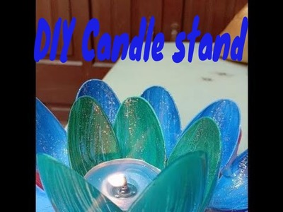 How to make DIY Candle stand  Best craft