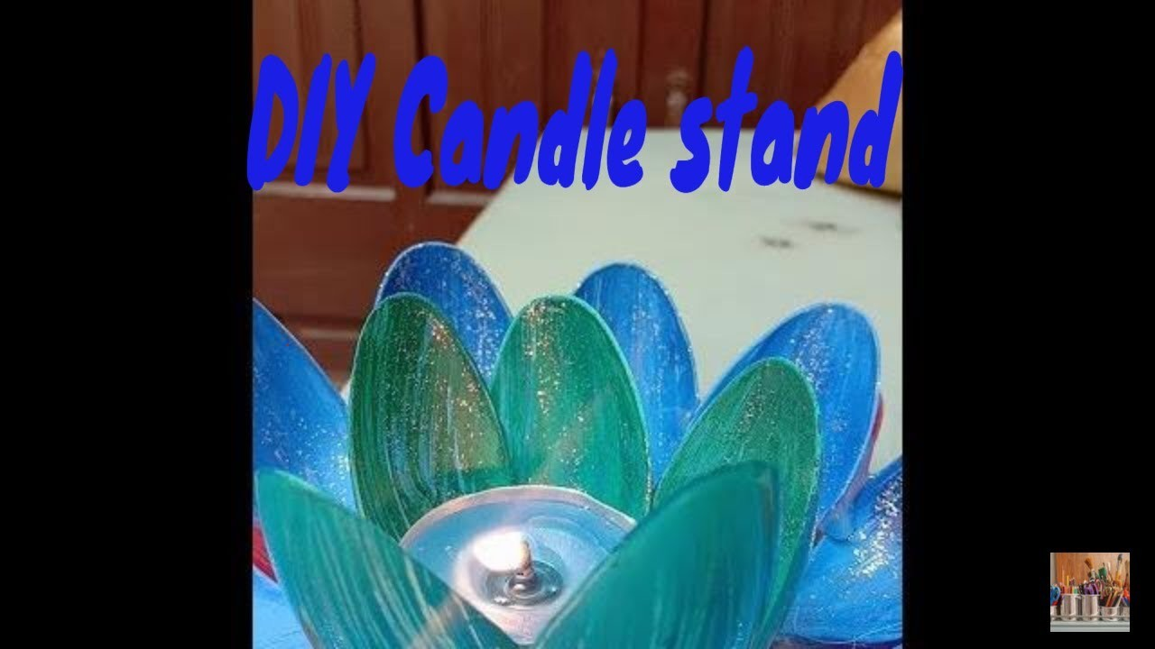 How to make DIY Candle stand||Best craft