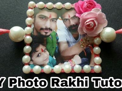 How to Make Photo Rakhi|| DIY photo Rakhi Tutorial ||How To Make Rakhi Full Tutorial