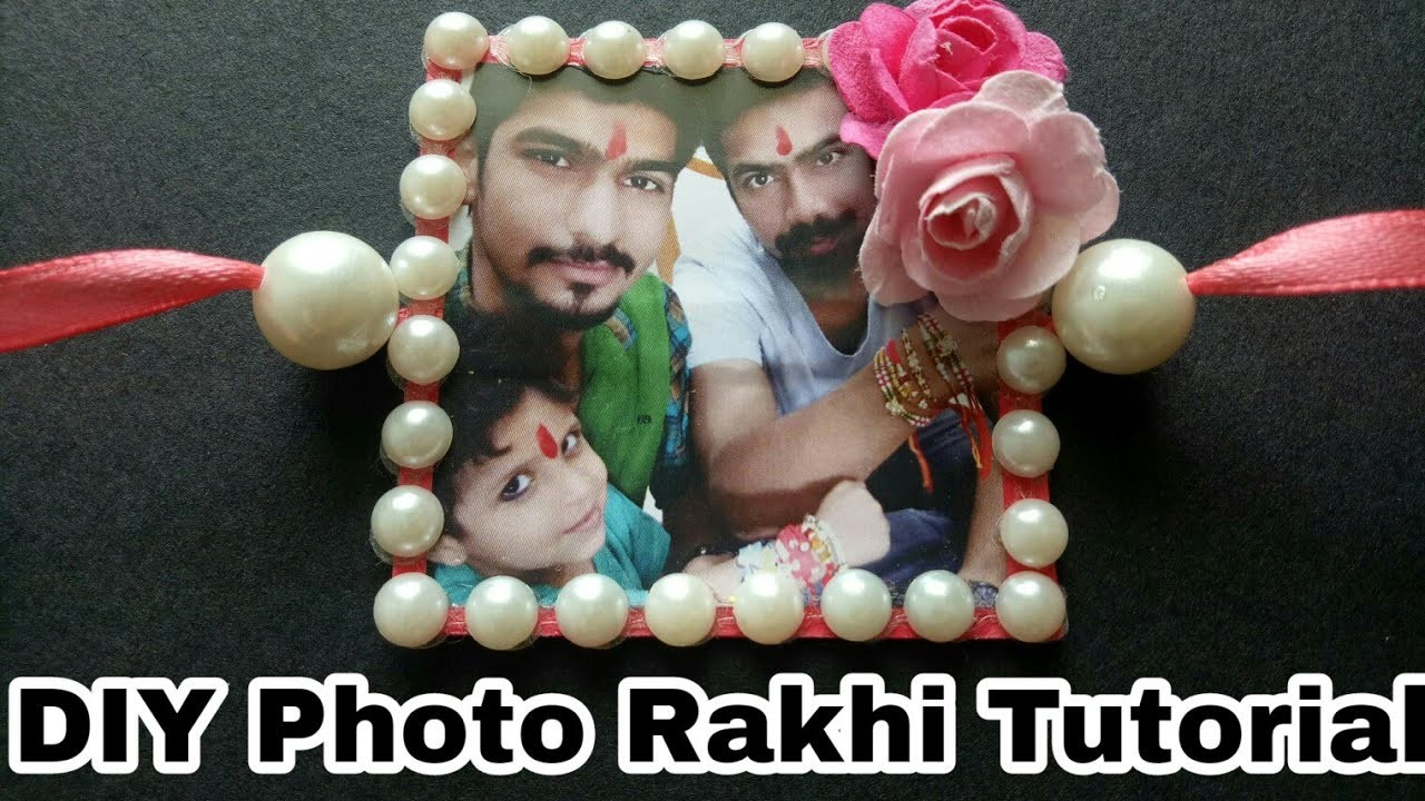 How to Make Photo Rakhi|| DIY photo Rakhi Tutorial ||How To Make Rakhi Full Tutorial