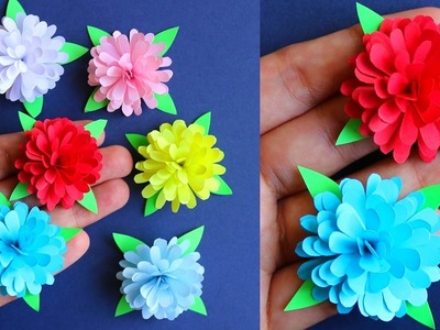 Diy How To Make Small Paper Flower Paper Craft Paper Flower