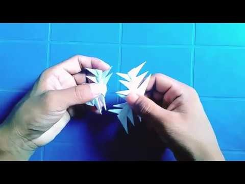 How to make Star Wars aeroplane DIY craft origami air paper planes