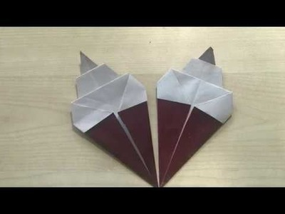Ice Cream Origami Craft - For Kids