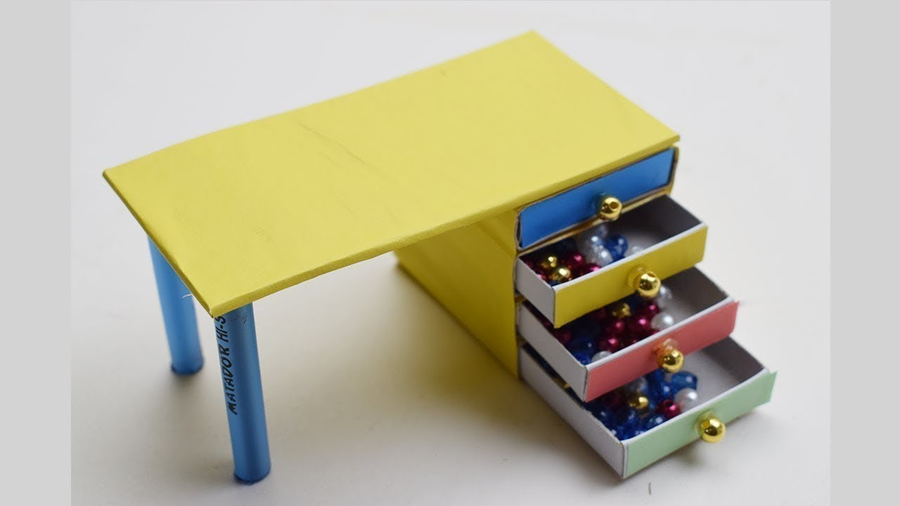 Matchbox craft idea|waste matchbox reuse|Best out of waste.