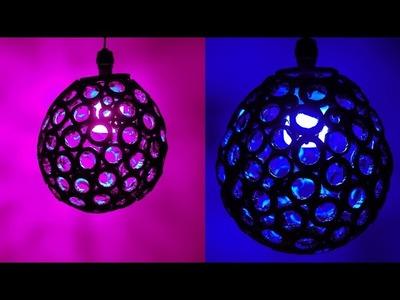 NIGHT LAMP - Paper Craft Ideas !! DIY ROOM DECOR