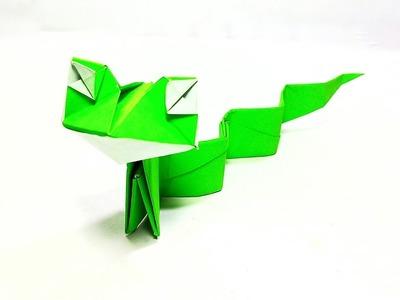 Origami Snake || Easy Paper Snake || DIY
