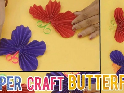 Paper Butterfly | Paper Craft for Kids | Easy DIY