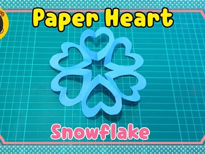 Paper Craft   Heart Snowflake   EP 4   Heart Shape   Easy DIY   DIY by Gift