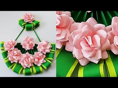 Paper Craft Ideas. Room Decor Crafts. DIY Wall Hanging Decoration. Best Out Of Waste 107