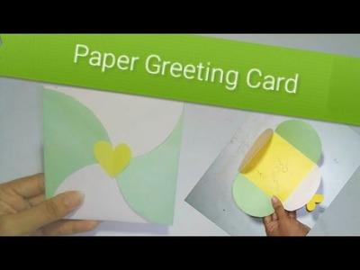 Paper Greeting Card।  Beautiful Craft Idea | Woman Garden