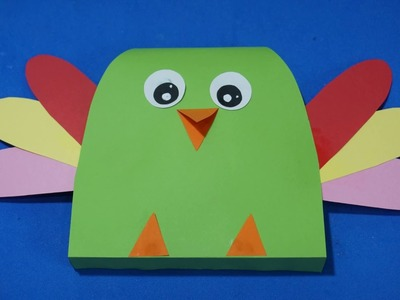 Paper Parrot Crafts For Kids    Diy easy paper parrot craft ideas
