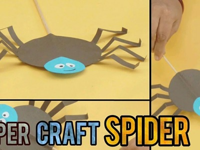 Paper spider | Paper craft for kids | Easy DIY