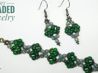 Pretty beaded Bracelet | Easy DIY beaded bracelet for Beginners | How to make bracelet | DIY Jewelry