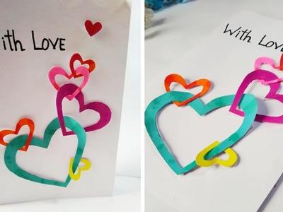 Valentine's Day Card DIY| DIY Card for Him.Her