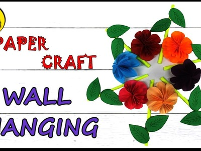 Wall Hanging Paper Craft - Room Decor - DIY Wall Hanging - Easy Crafts