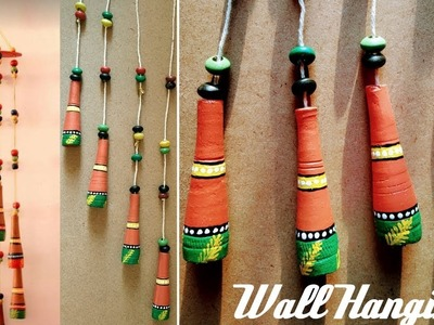 WOW!!! Beautiful Wind Chime || Wall Hanging Craft Idea!!! #CreativeMind #wallHanging #WindChime