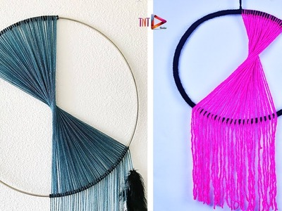 WOW !! Dream Catcher Wall Hanging | Modern Minimalist Decor | DIY Dreamcatcher Tutorial