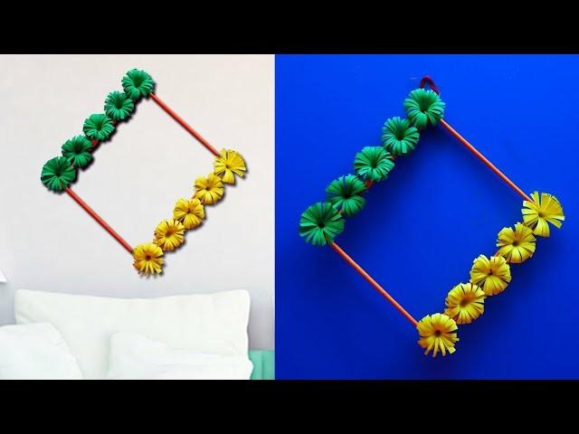 WOW !! Wall Decoration Craft Idea .  Paper Craft Idea