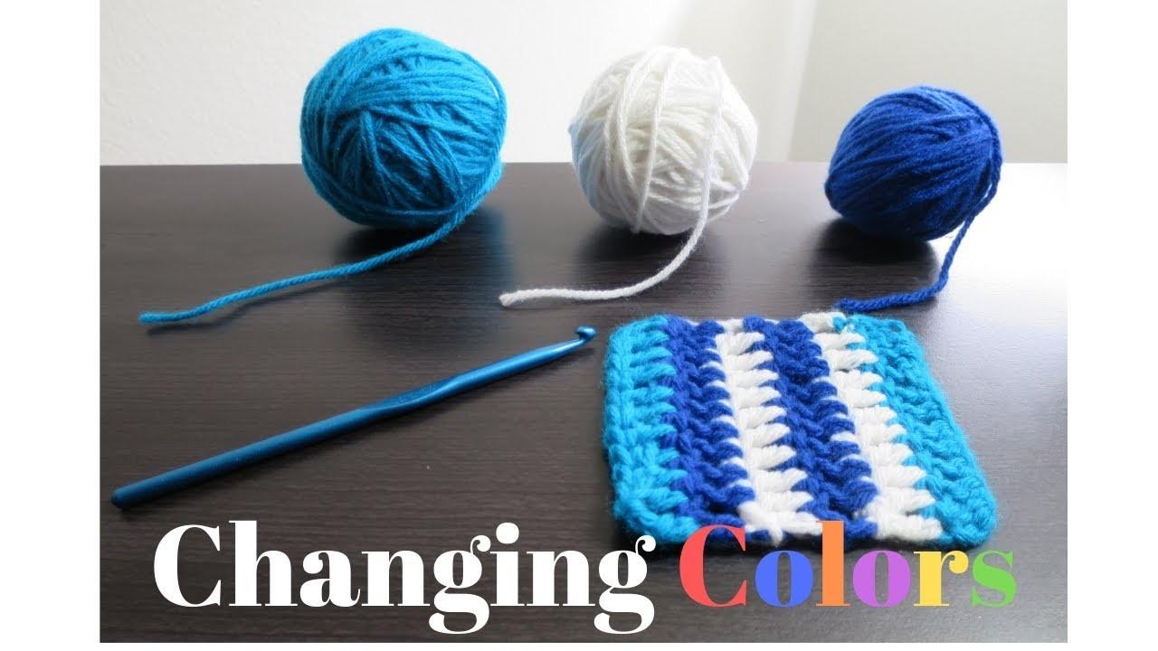 3 Ways to Change Colors In Crochet | Atreyu Crochet