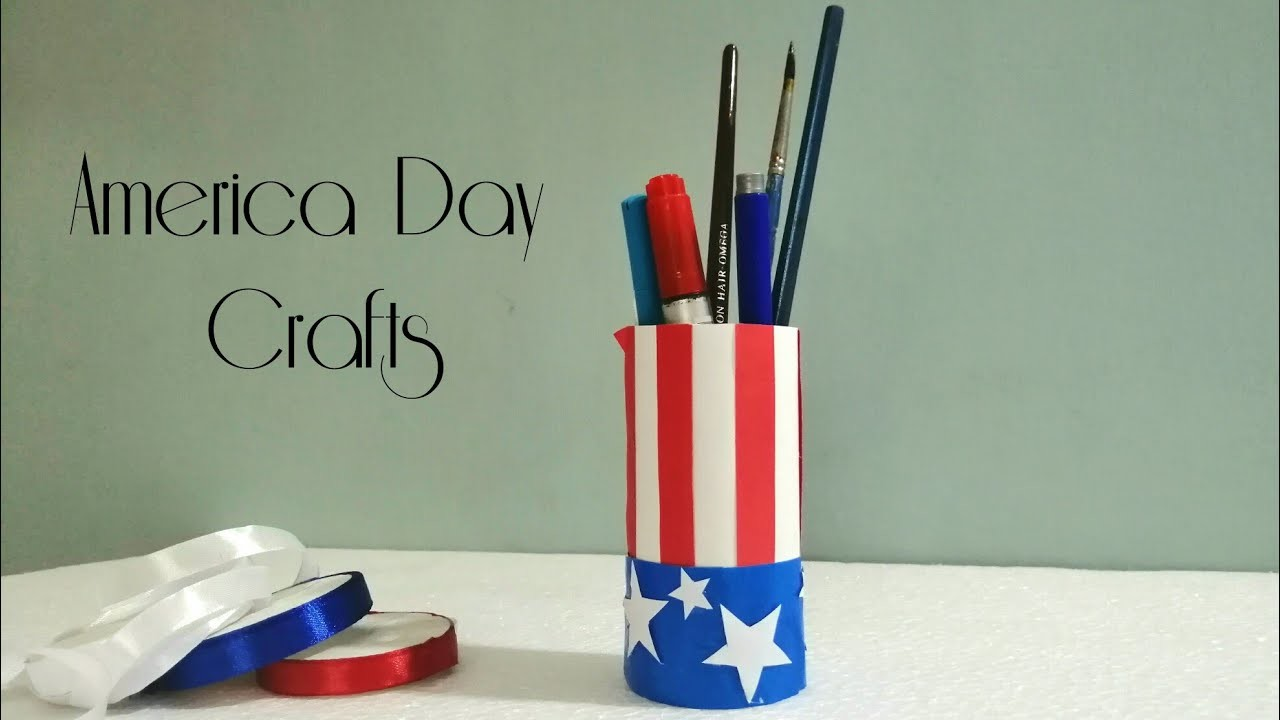 America Day 2019 |DIY America Day Crafts |Tissue Paper Roll America Day Crafts 2019 | 4th July, 2019