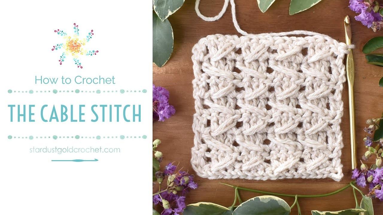 Cable Stitch   Saturday Stitch Explorers   Learn Crochet