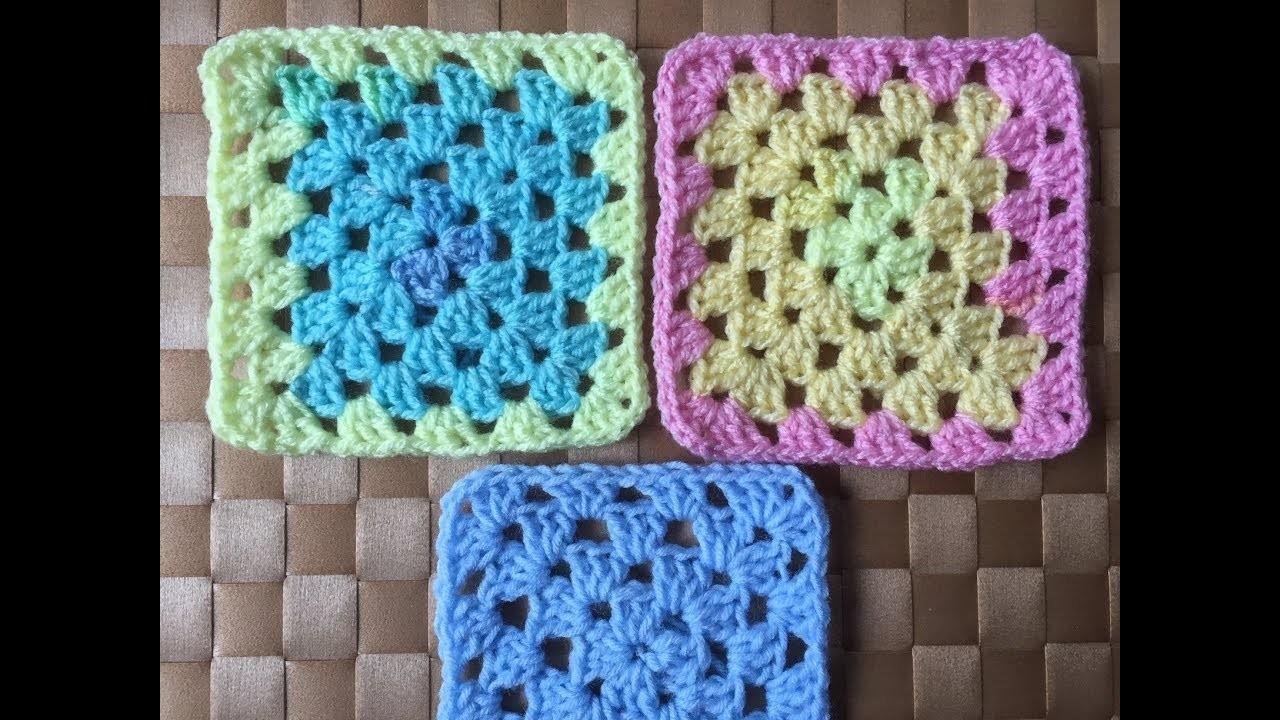Crochet Classic Granny Square Tutorial