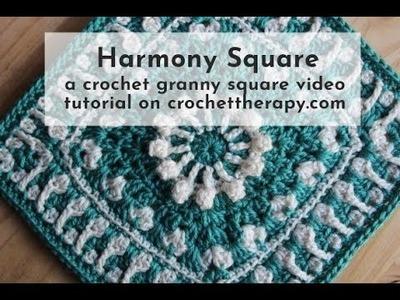 Crochet Granny Square Harmony