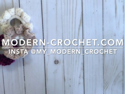 Crochet Scrunchie Tutorial