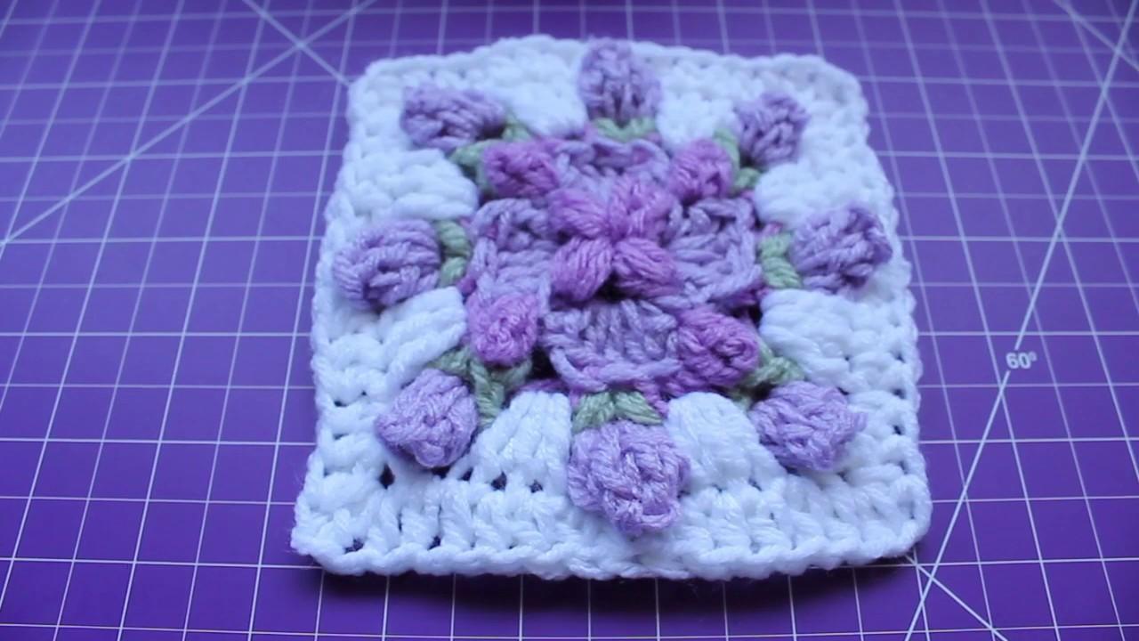 Crochet Spring Fling Square