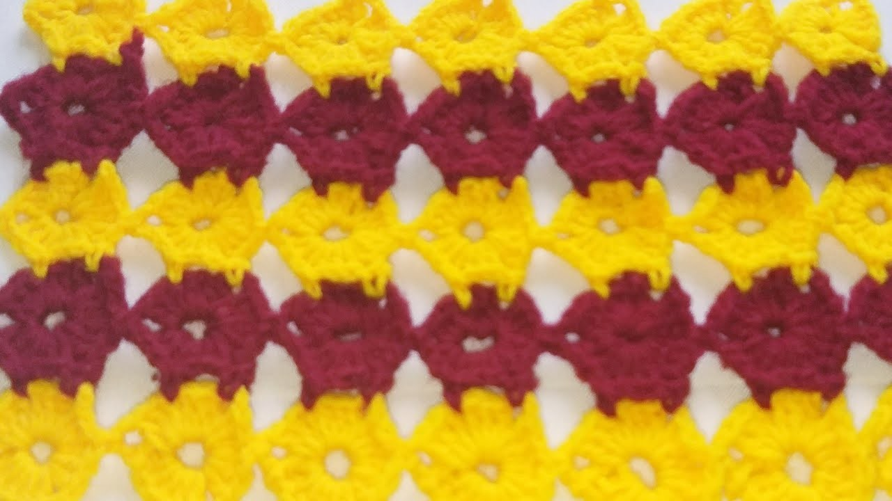 Crochet table cover, woolen TV cover, crosia ke desing ,#131,by  Santosh All Art   