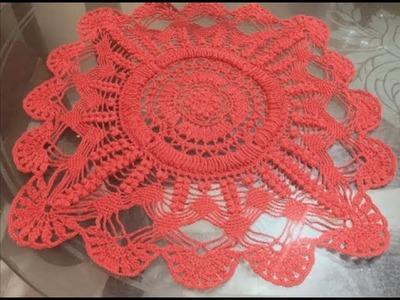 Crochet The SONA Doily.Centrepiece - PART 12