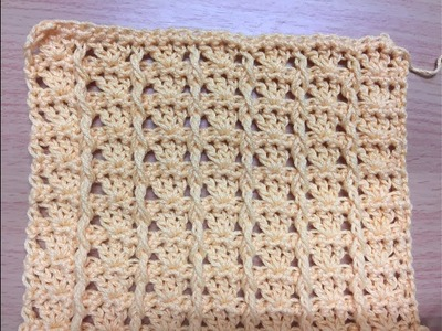 Crochet Timeless Memories Stitch Tutorial (Modified)