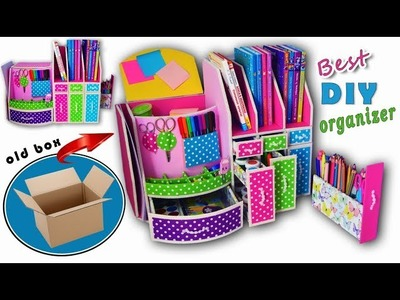 DIY ADORABLE ORGANIZER BOX USEFUL EVER. 16 Compartment for Keeping Everything