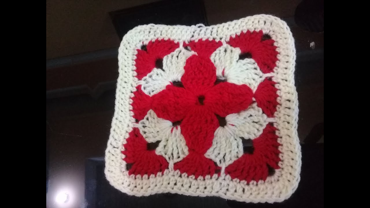 DIY CROCHET FLOWER