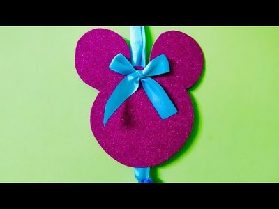 DIY Disney Theme Hairclip Holder
