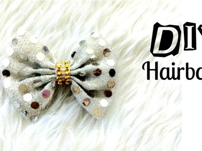 DIY Fabric Hairbow  || Hairbow Ideas || Easy Tutorial || How to Make