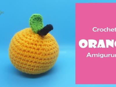 DIY Fruit Amigurumi | How to make an ORANGE amigurumi | AmiguWorld