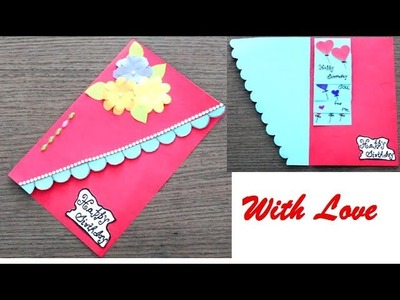 DIY - How to make Special Birthday Card For Best Friend || DIY Gift Idea.