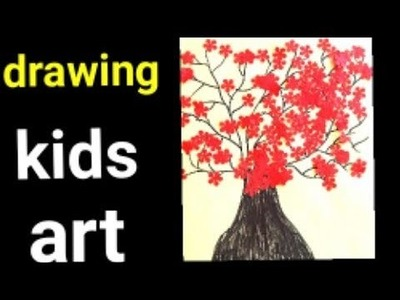 DIY.simple drawing for kids.easy trick.simple idea.easy arts
